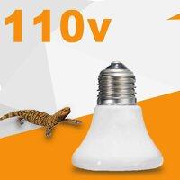 Đèn phát nhiệt chuyên dụng sưởi thú cưng bò sát 110V chất lượng cao