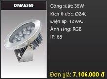 Đèn âm dưới nước Duhal DMA6369