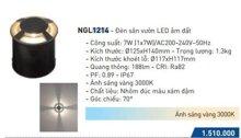 Đèn âm sàn âm đất Panasonic NGL1214 - 7W