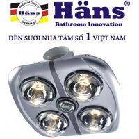 Đèn sưởi âm trần Hans  (4 bóng)