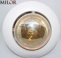 Đèn sưởi mùa đông 1 bóng âm trần nhà tắm Milor ML-6010