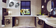 Đèn sưởi nhà tắm Braun 2 bóng BU02 chính hãng