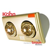 Đèn sưởi nhà tắm Braun KU02G