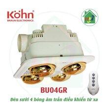 Đèn sưởi nhà tắm Braun BU04GR