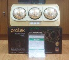 Đèn sưởi nhà tắm Protex PX03 - 3 bóng