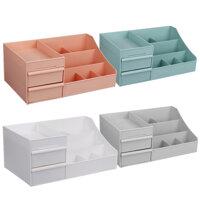 Desktop Cosmetic Storage Box Case Makeup Sundries Organizer Jewelry Display Container