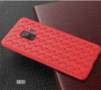 Dệt Lưới Ốp Lưng Điện Thoại Samsung Galaxy S10 S9 S8 Plus Note 9 8 M10 M20 M30 M40 A10 A30 A40 A50 a60 A70 Trường Hợp Mềm Mại Dệt Bao