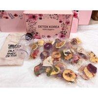 Detox hoa quả sấy khô - giảm cân giữ dáng - đẹp da