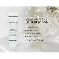 DETOX MASK – Mặt nạ thải độc trắng da công nghệ than hoạt tính