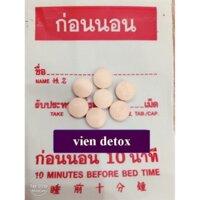 Detox thanh lọc cơ thể (10 viên)