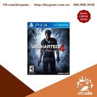 Đĩa game Uncharted 4: A Thief's End dành cho máy PS4 / PS5 2nd
