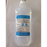 dịch muối truyền tĩnh mạch nước muối dịch truyền truyền dịch tĩnh mạch NATRI CLORID 0,9% chai 500ml