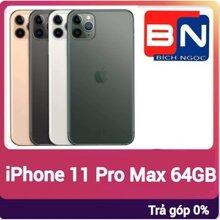 Điện thoại Apple Iphone 11 Pro Max - 64GB, 1 sim, 6.5 inch