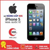 Điện thoại Apple iPhone 5 - 16GB  - Full phụ kiện - Bản QUỐC TẾ - Bảo hành 6T - Đổi trả miễn phí tại nhà - Yên tâm mua sắm với Mr Cầu
