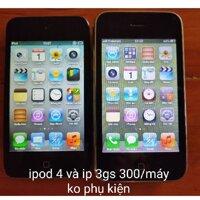 điện thoại iphone 3gs 8g và ipod touch gen 4 8g