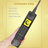 Điện thoại pin khủng Kechaoda 888 3 sim 3 sóng - hàng mới Fullbox bảo hành 1 năm