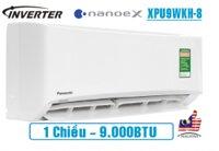 Điều hòa Panasonic NanoeX 9000BTU 1 chiều inverter XPU9WKH-8
