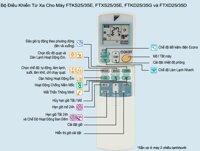 Điều khiển điều hòa Daikin 2 chiều inverter Ga R410A - R22 - R32