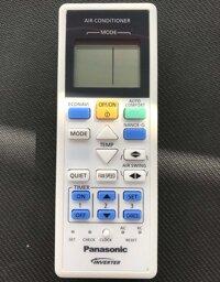 Điều khiển điều hòa panasonic inverter 02(Trắng)