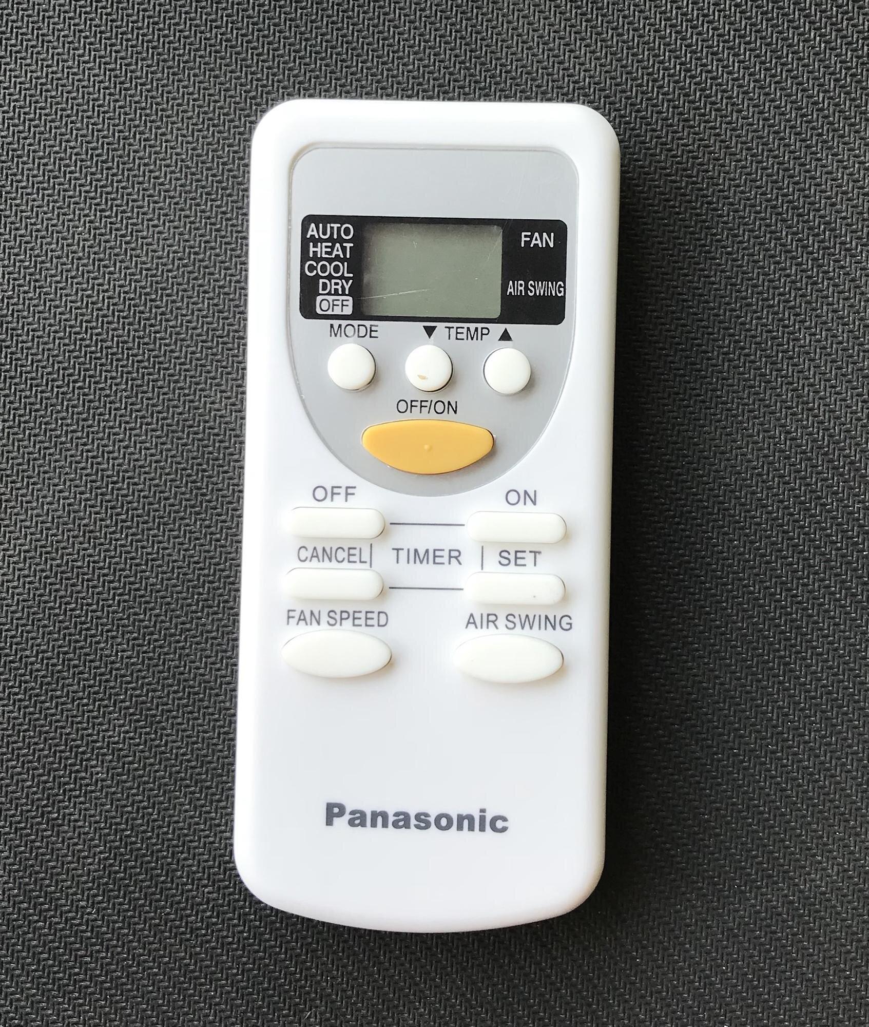 Điều khiển điều hòa Panasonic A75C2665