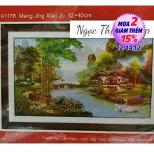 Tranh thêu chữ thập DLH-YA1178 - Đồng quê