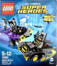 Mô hình Lego Super Heroes – Người Dơi đại chiến Người Mèo 76061 (79 mảnh ghép)