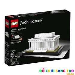 Đồ Chơi Lego Architecture 21022 Đài Tưởng Niệm Lincoln