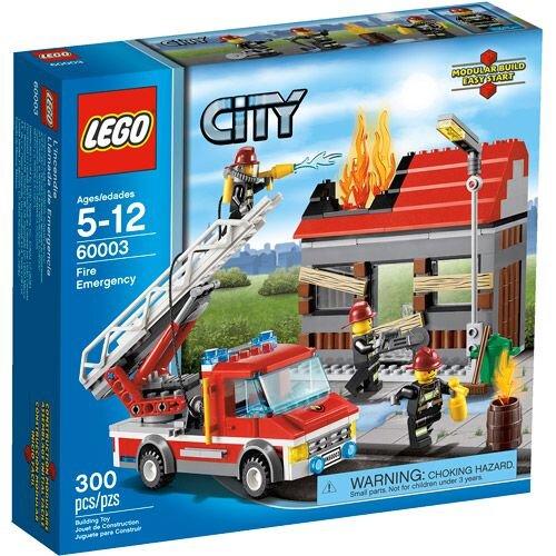 Bộ xếp hình cứu hỏa khẩn cấp Lego City 60003