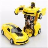 Đồ chơi ô tô biến hình thành Robot Bumblebee