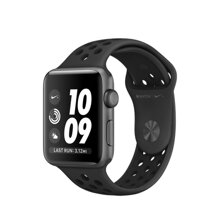 Apple Watch Series 3 Nike+ Silver Aluminum Case with Pure Platinum/Black Nike Sport Band