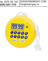 Dong ho bam giay dem lui - dem tien 5036 Traceable® Water-Resistant, Flashing Timer