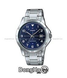 Đồng hồ nam dây thép không gỉ Casio Quartz MTP-V008D - màu 7BUDF/ 2BUDF