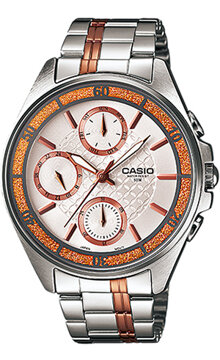 Đồng hồ nữ dây kim loại casio Standard LTP-2086RG
