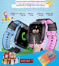 Đồng hồ định vị trẻ em GPS - Q528 Tracker GPS mẫu mới có đèn pin - quản lý trẻ trên phần mềm wonlex + tặng kèm sim