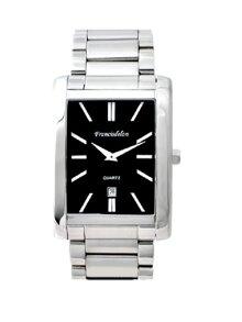 Đồng hồ nam dây thép không gỉ Francis Delon Quartz 1M09MBWWH - màu WH/ BK