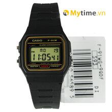Đồng hồ nam Casio F-91WG-9SDF