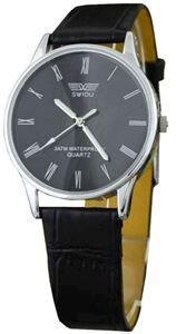 Đồng hồ nữ dây da SWIDU 002