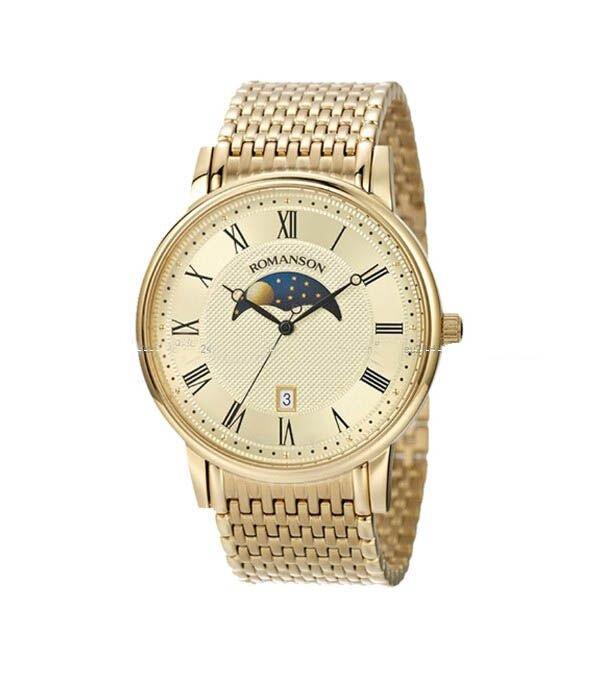 Đồng hồ nam Romanson TM1274FMGGD - Màu GGD/ CWH/ WWH