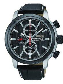 Đồng hồ nam dây da Seiko SNAF47P2