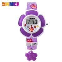 Đồng hồ thể thao trẻ em - đồng hồ điện tử bé gái dây cao su chính hãng Skmei 1144 [bonus]