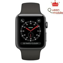 Apple Watch Series 3 Space Gray Aluminum Case with Gray Sport Band (GPS) MR352