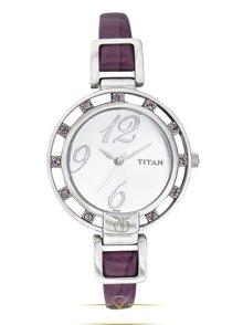 Đồng hồ nữ dây da Titan 9924SL01