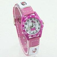 Đồng hồ trẻ em Hello Kitty dây vải dành cho bé gái