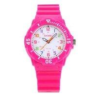 Đồng hồ trẻ em Skmei thời trang thể thao SK 1043 dây cao su Hồng