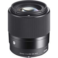 Sigma 30mm F1.4 DC DN for Sony E-mount | Chinh Hang