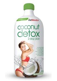 FAT BLASTER COCONUT DETOX 2 DAY PLAN - thanh lọc cơ thể, loại bỏ mỡ thừa, giảm cân hiệu quả