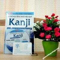 Flashcards Bộ thẻ học tiếng Nhật hiệu quả Kanji - Kèm CD