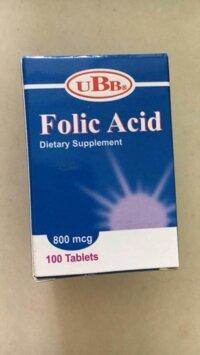 Folic Acid Ubb