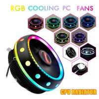 【Free Vận Chuyển + Siêu Deal】coolmoon RGB Làm Mát Cho CPU 12V DC 3Pin Hỗ Trợ Intel & AMD Socket PC 0.2A