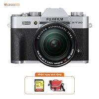 Fujifilm X-T20 + XF 18-55mm (Silver)   Chính hãng